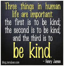 three things in human are important zerodean