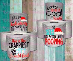 personalized toilet paper gift funny gift secret santa