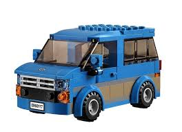 kid play car lego building block van kid truck brick fun play car christmas toy