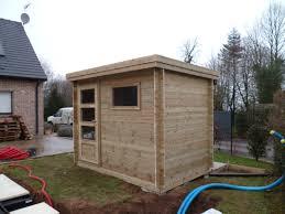 modele jardin contemporain oregistro com u003d abri de jardin toit plat sur mesure idées de