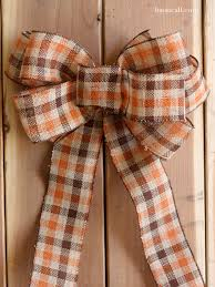 how to make a big bow for a wreath liz on call