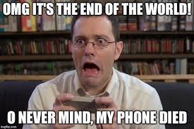 Dead Phone Meme - dead phone apocalypse imgflip