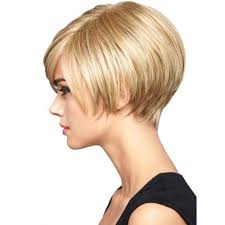 side view of blended wedge haircut angled short wedge haircuts new hairstyles haircuts hair