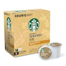 keurig k cups light roast k cup pod starbucks veranda blend blonde light roast coffee 16 pk