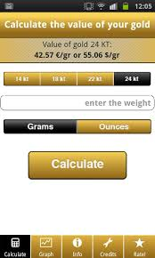 gold price calculator live android apps on play