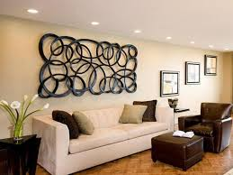 wall decor ideas above sofa unique hardscape design suspended