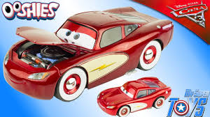 disney cars cruisin lightning mcqueen 1 24 scale cars 3 ooshies