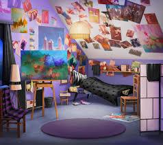 Living Room Wallpaper Scenery Int Janis Dorm Room Night Episode Interactive Pinterest