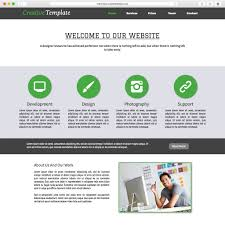 free muse template creative adobe muse template by musetemplatespro com