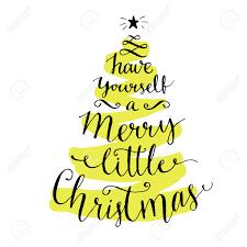 merry christmas modern calligraphy