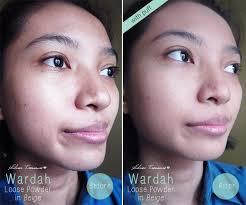 Bedak Tabur Wardah Anti Acne wardah everyday luminous powder beige 02 silver treasure