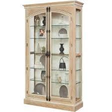 Images Of Curio Cabinets Amazon Com Pulaski Hailey Cremone Door Curio Cabinet Brown