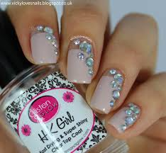 16 spectacular 3d nail designs rhinestones gems and pearls on