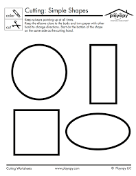 this simple worksheet is great for practicing coloring and cutting