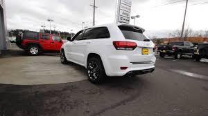 dodge jeep white 2016 jeep grand cherokee srt bright white clearcoat gc338861