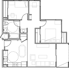 Square Floor Plans For Homes West Village Apartments At The University Village Albany Uva