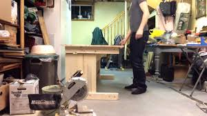 Diy Adjustable Standing Desk by Diy Sit Stand Desk With Counterweight Youtube