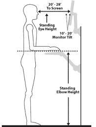 proper height for standing desk proper height for standing desk top interior furniture