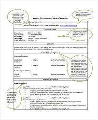 Sample Formal Resume by 7 Formal Curriculum Vitae Free Sample Example Format Download