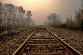download free train track dawn hd wallpaper for mobile and desktop