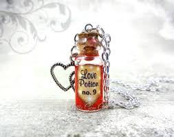 glass bottle necklace images Little gem girl magical love potion mini glass bottle necklace jpeg
