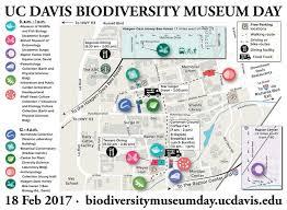 davis map map biodiversity museum day
