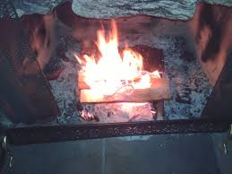 building a fire with purchased wood 9 steps