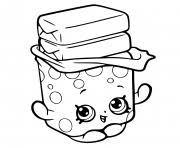 cute donut dog printable shopkins season 5 coloring pages printable