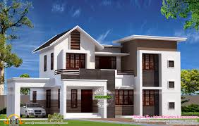 contemporary house designs sqfeet 4 bedroom villa design elegant