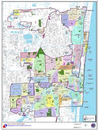 map of ft lauderdale city of fort lauderdale fl community enhancement contacts
