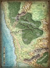 Forgotten Realms Map World U0026 Regional Maps On Behance