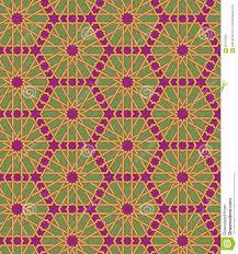Morrocan Design Seamless Islamic Moroccan Pattern Arabic Geometric Ornament