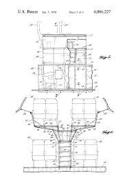 patente us4066227 mezzanine structure for wide bodied passenger