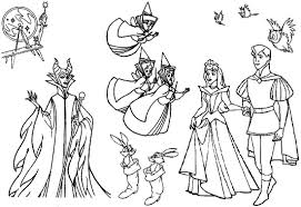 7 images of maleficent aurora coloring pages disney princess