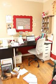 How To Organize My Desk My And Crafty Way To Organize My Home Office