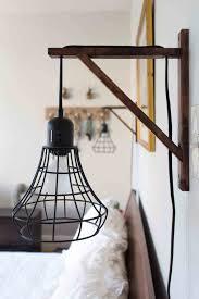 wall mounted plug in lights mounted plug in lights cord bedroom swing wall mount l plug in