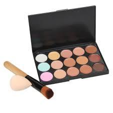 Color Concealer Aliexpress Com Buy 15 Colors Makeup Concealer Palette Base