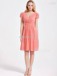 2014 new v neck short sleeves party dresses cocktail dress ruffles