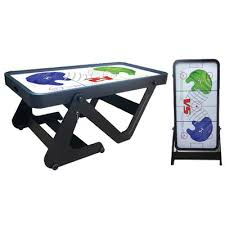 foldable air hockey table attractive folding air hockey table bce typhoon 6ft folding air