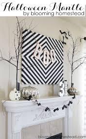 top 16 easy mantel decors for halloween u2013 unique design project