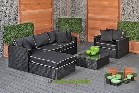 salon de jardin exterieur resine supérieur salon resine pas cher 12 mobilier de jardin exterieur