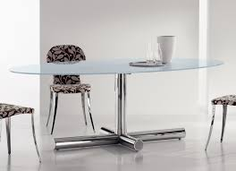 oval glass dining table oval glass dining table is a proper choice for adorning your dining