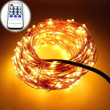 clear globe string lights white wire battery operated led mini 42