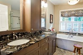 White Bathroom Vanity With Black Granite Top by Easy Cleaning Tips For Marble Bathroom Countertops City Gate