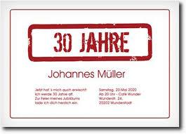 zum 30 geburtstag spr che 30 geburtstag einladung text designideen