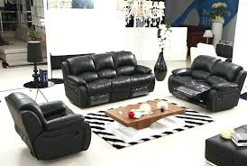 modern sectional recliner leather sofa font set sets contemporary