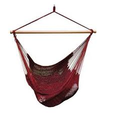 blue sky outdoor 2 33 ft cotton hammock hanging chair with