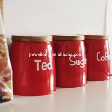 home decorative metal sealed coffee tea sugar canister kitchen tin