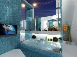 cool bathroom bathroom cute picture of blue modern bathroom theme decoration