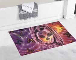Purple Bath Rugs Bathroom Rug Etsy